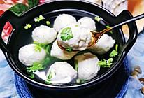 鲅鱼丸子汤——水上芙蓉,地道胶东味儿的做法