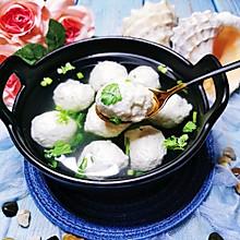 鲅鱼丸子汤——水上芙蓉,地道胶东味儿