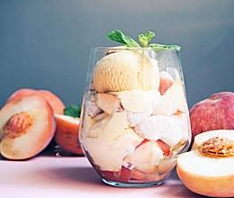 简单一蒸就上桌,营养又解馋的蜜桃麻薯