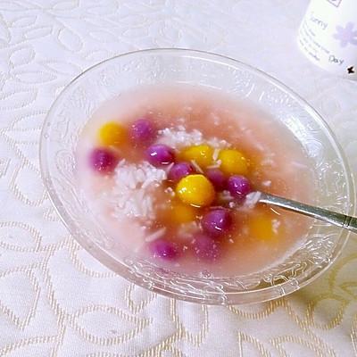 米酒小芋圆