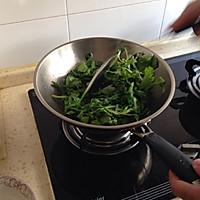 炒茼蒿菜的做法图解1