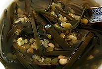 陈皮海带绿豆汤的做法