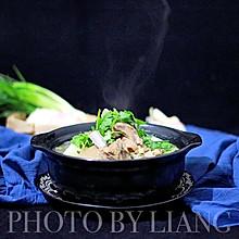 冬季温补之食-白萝卜炖羊排