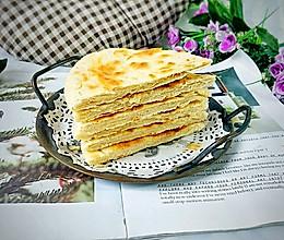 #好吃不上火#快手家常烙饼的做法