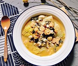 不用高汤,就能做出味道鲜美的上汤娃娃菜#入秋滋补正当时#的做法