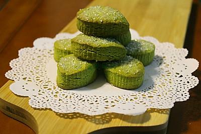 日式抹茶饼干~茶香酥软,甜而不腻