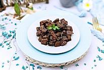 香烤孜然牛肉粒#中粮我买网年味儿菜#的做法