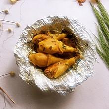 盐焗鸡腿(烤箱版)