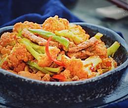 #爽口凉菜,开胃一夏!#肉煸花菜的做法