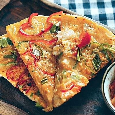 泡菜海鲜饼|日食记