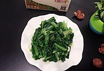 蒜炒油麦菜的做法
