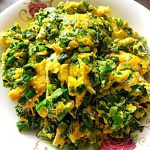 煎鸡蛋韭菜