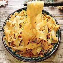 #美食视频挑战赛#自制凉皮