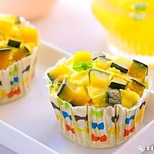 南瓜小蛋糕 宝宝辅食食谱
