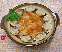 茄汁蛤蜊烩白菜 ★ 砂锅白菜 2的做法