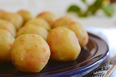 68期 快手菜,土豆小丸子
