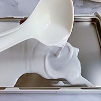 #肉食者联盟#自制鸡蛋肠粉的做法图解6