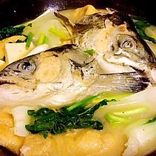 三文鱼头豆腐汤
