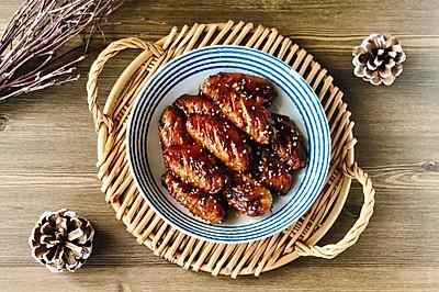零厨艺都能做的蒜香蜂蜜蚝油鸡翅,好吃到舔手手