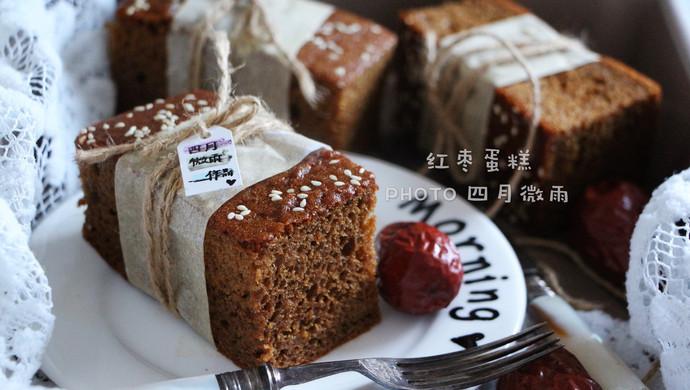 冬季养生必备红枣蛋糕