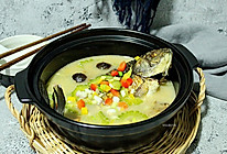 营养鲜汤【黑蒜苦瓜鲫鱼汤】#每道菜都是一台食光机#的做法