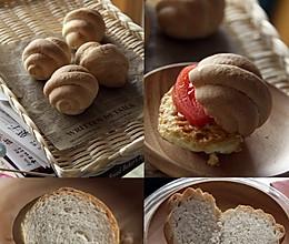 全麦小包的做法
