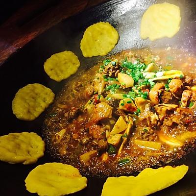 柴火鸡(超级好吃,餐馆配方)