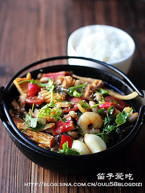 麻辣香锅的做法