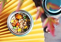 板栗鸡腿焖饭(焖烧杯版)的做法