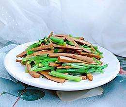 西芹炒豆干的做法