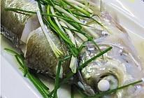 清蒸白鱼的做法