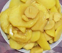 糖醋土豆杏鲍菇的做法