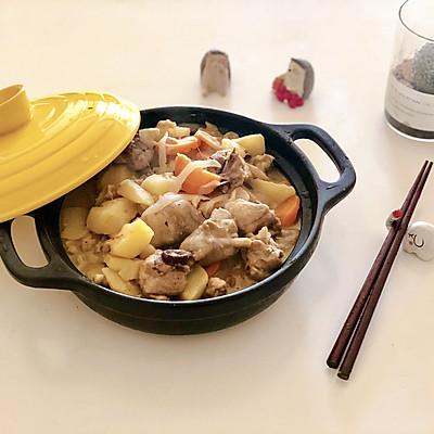 泰式绿咖喱鸡