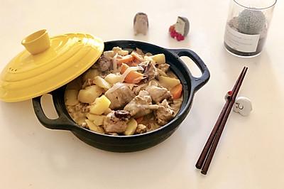 #硬核菜谱制作人#泰式绿咖喱鸡