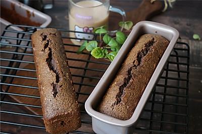 低脂健康的摩卡蛋糕