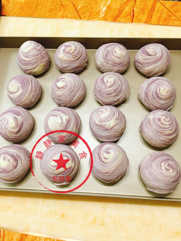 紫芋酥的做法