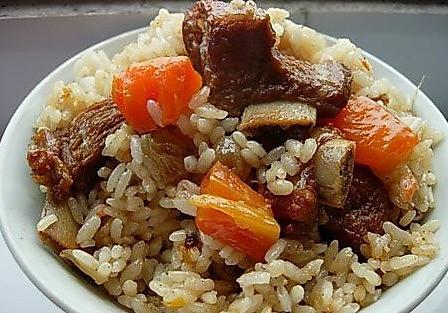 美味 羊肉抓饭的做法