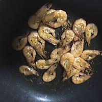 三丁干煎虾的做法图解3