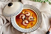 虾仁蒸蛋--营养早餐的做法