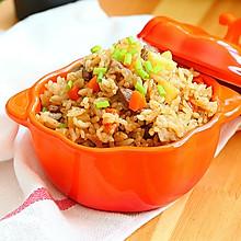 土豆牛肉胡萝卜焖饭#铁釜烧饭就是香#