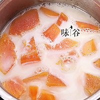 木瓜炖牛奶的做法图解5