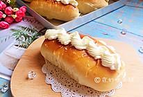 #金龙鱼精英百分百烘焙大赛tiger战队#奶油夹馅面包的做法