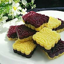 紫薯綠豆糕(免炒制)#發現粗食之美#