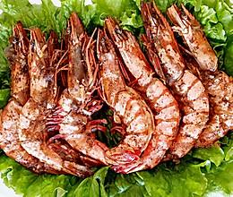 烤箱海虾的做法