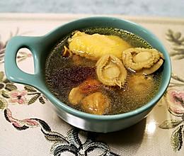 鲍鱼干炖鸡汤的做法