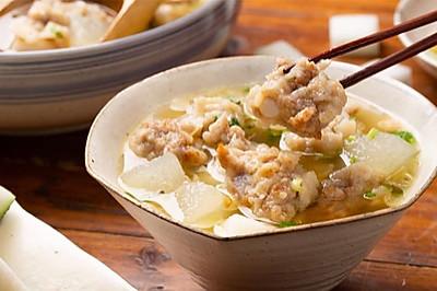 【排骨酥冬瓜汤】清醇排骨冬瓜汤,大厨教你去油腻