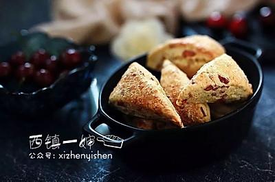 【空气炸锅版】火腿鲜香司康饼