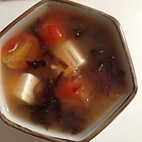 饱腹又美味的减肥汤-蕃茄豆腐汤的做法图解5
