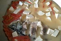 草鱼西红柿豆腐汤(孕妇菜)的做法