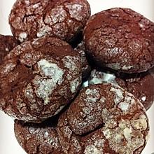 香浓巧克力裂纹曲奇(图详解)